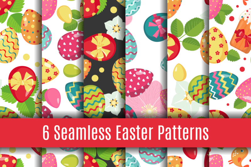 set-of-easter-icons-and-patterns