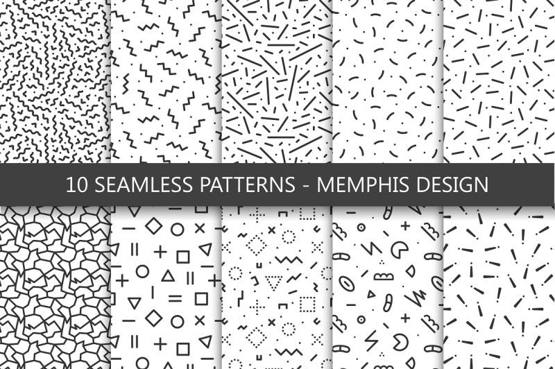 trendy-memphis-patterns-design-80-90s