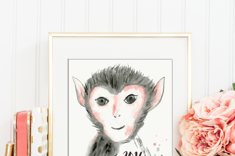 watercolor-2016-year-of-the-monkey