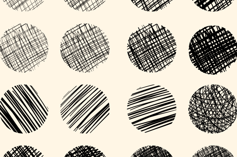 16-png-scribbles-in-round-shape
