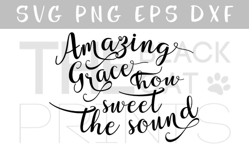 amazing-grace-svg-png-eps-dxf-calligraphy-cutting-file