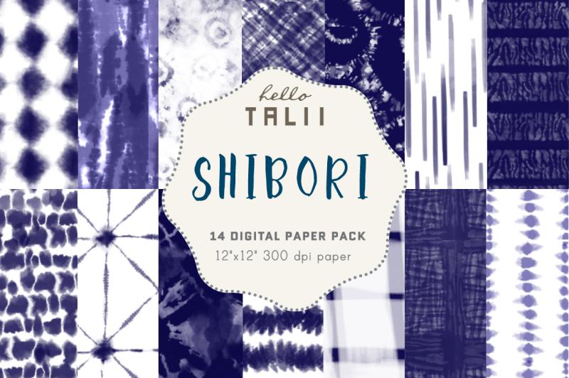 shibori-digital-paper