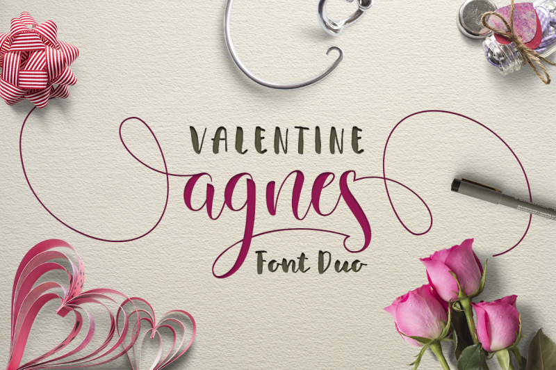 valentine-agnes-font-duo