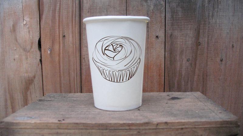 Free Mockup paper cup (PSD Mockups)