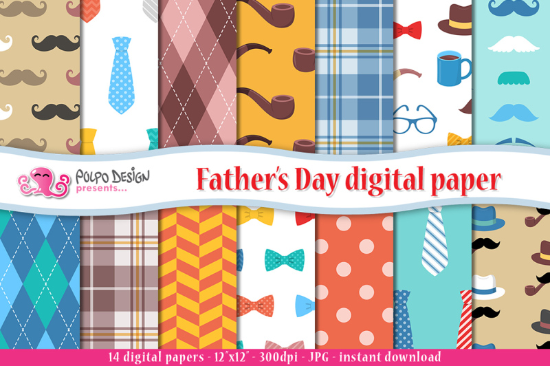 father-s-day-digital-paper