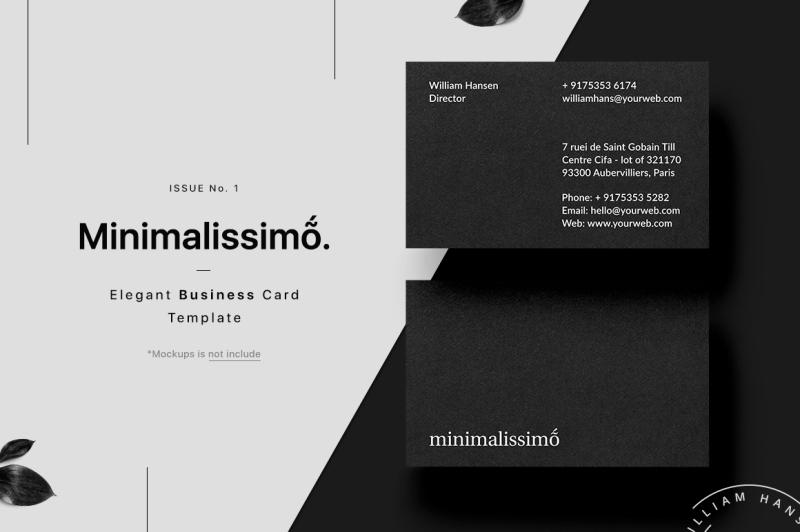 minimalissimo-business-card-template