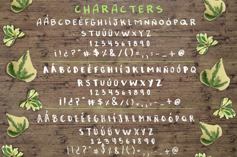 sketchy-handmade-font-trio
