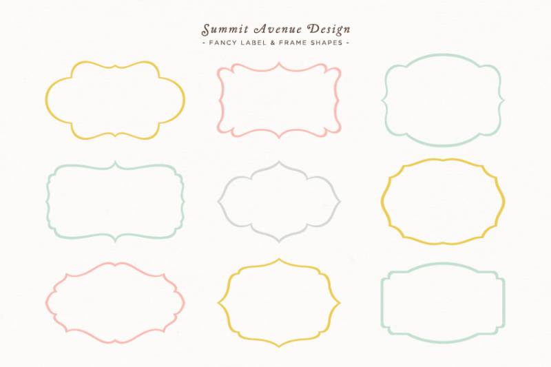 fancy-frames-and-label-shapes-or-borders