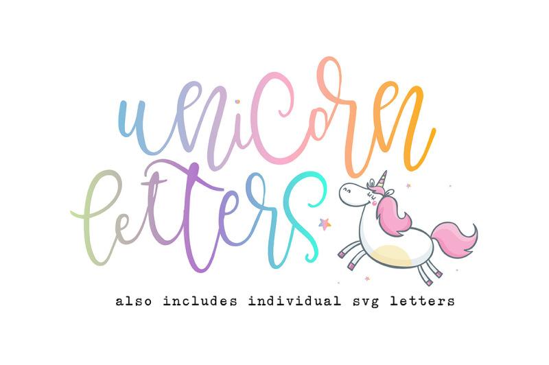 unicorn-letters
