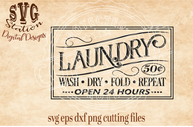 vintage-laundry-sign-svg-dxf-png-eps-cutting-file-silhouette-cricut