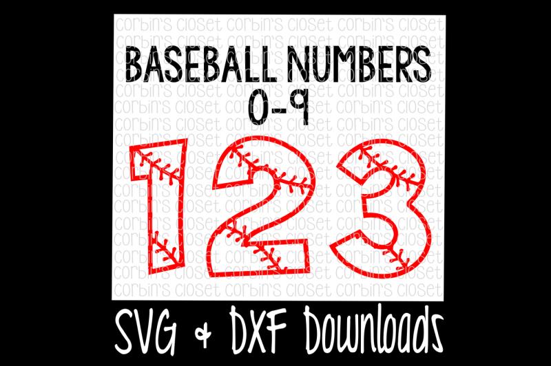 baseball-numbers-cut-file