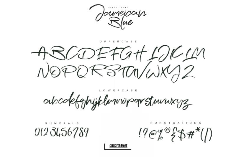 jameican-blue-font