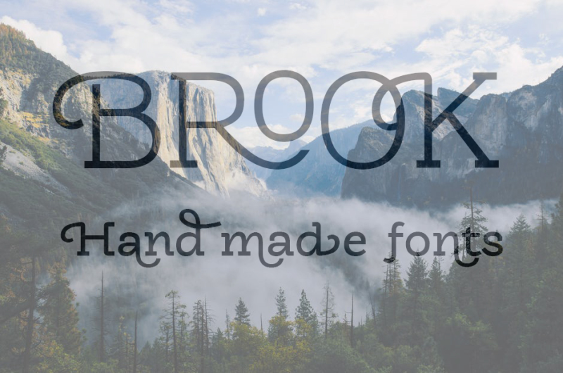 brook-typeface