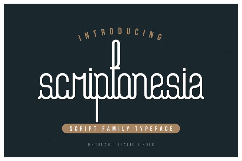 scriptonesia-font-family