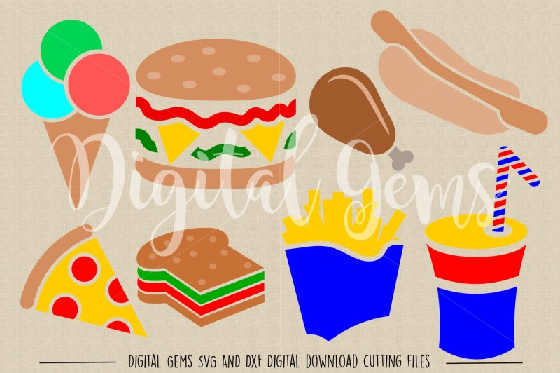 fast-food-svg-dxf-eps-png-files