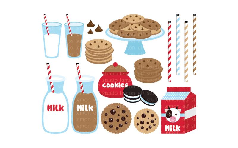 cookies-and-milk-digital-clipart-les-cl42a