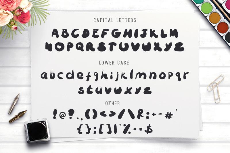 bubbliest-font