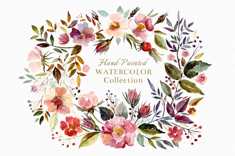 watercolor-wreath