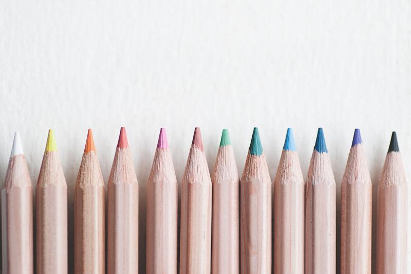 art-pencils-in-a-row
