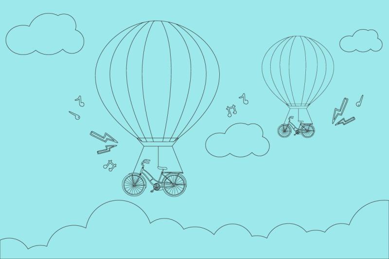 bicycle-air-balloons