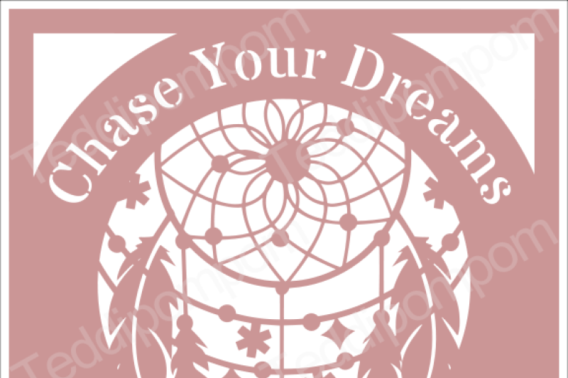 chase-your-dreams-dreamcatcher-svg-papercut-frame-cricut-silhouette-svg-papercutting-card-making-digital-upload