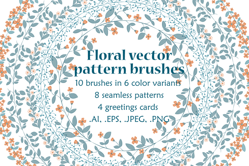 floral-vector-pattern-brushes-collection