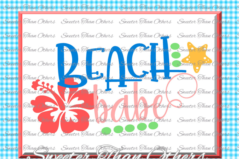 beach-svg-beach-babe-svg-summer-beach-pattern-dxf-silhouette-cameo-cut-file-cricut-cut-file-instant-download-vinyl-design-htv-scal-mtc