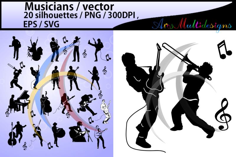 musicians-svg-vector