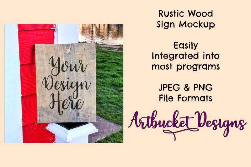 Download Rustic Wood Sign Mockup (#11) Free Mockups
