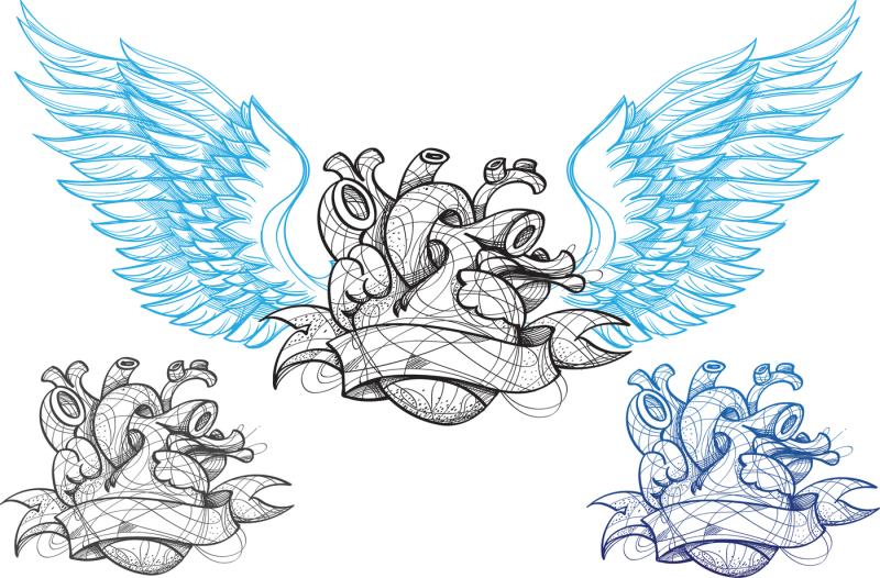 heart-tattoo-and-backgrounds
