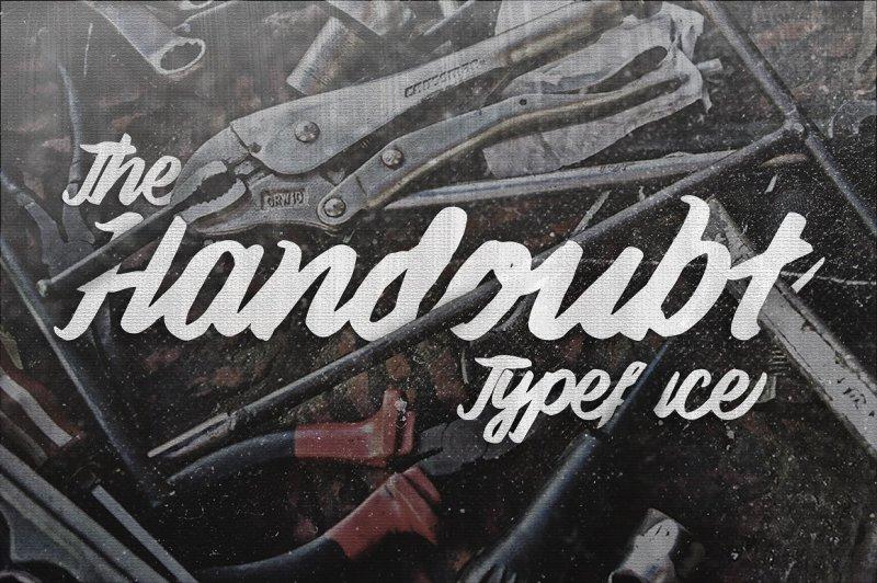 handoubt-typeface