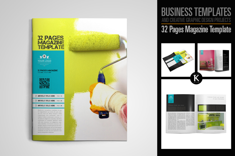 32-pages-magazine-template