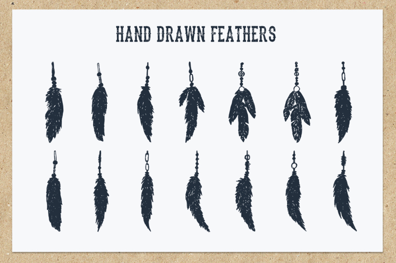 native-spirit-55-hand-drawn-objects