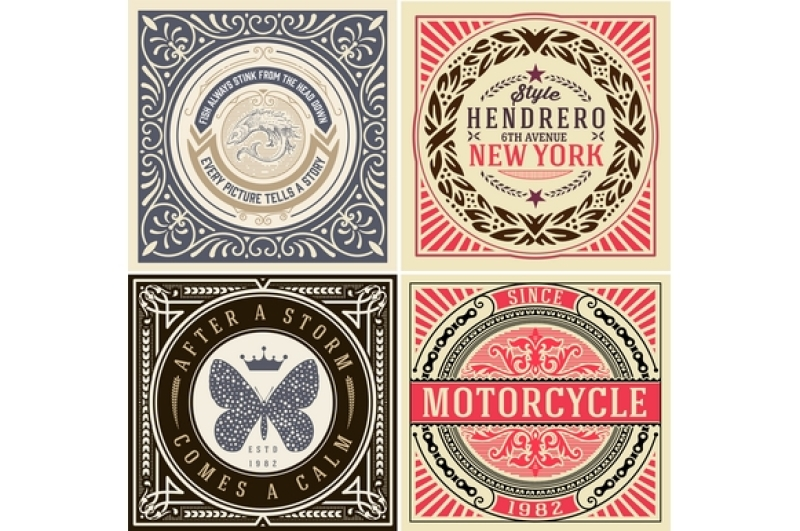 vintage-logo-and-cards