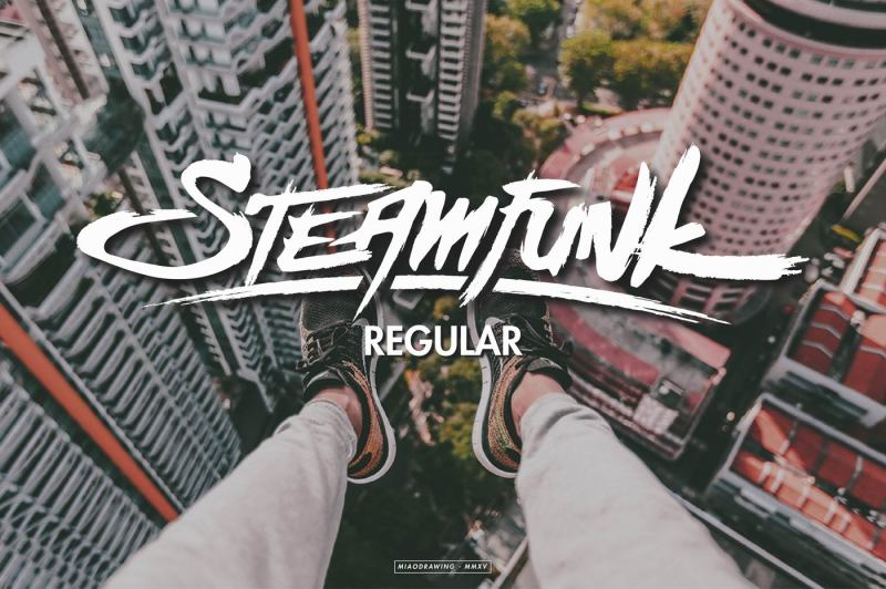 steamfunk-typeface
