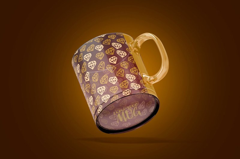 Download Kraft Bag With Coffee Cup Mockup Half Side View Yellowimages