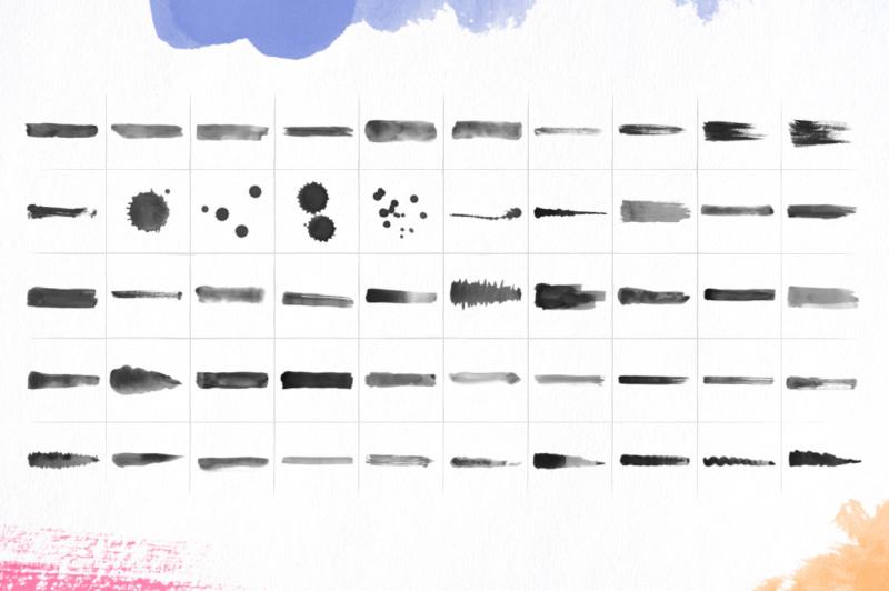 100-watercolor-brushes