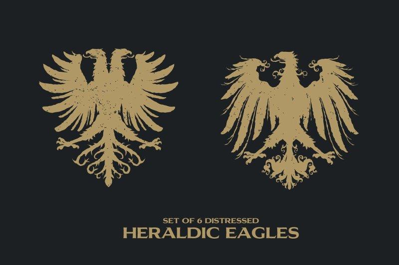 6-distressed-heraldic-eagles