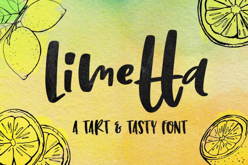 limetta-a-fun-handwritten-font