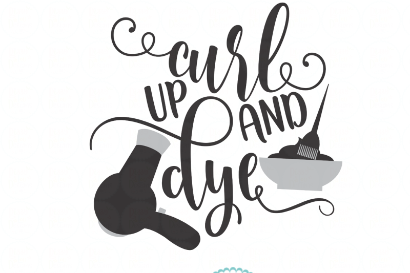 curl-up-and-dye-svg-eps-dxf-png-file