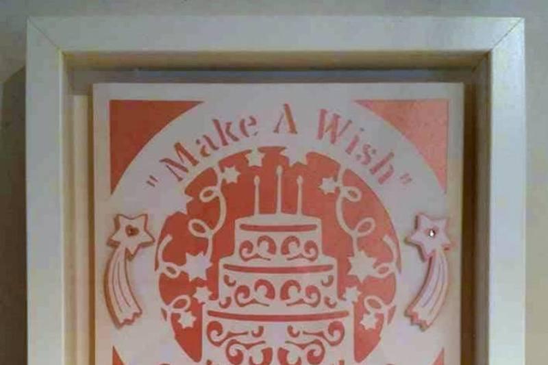 Make A Wish Birthday Cake Svg File By Sandie Carson Teddipompom