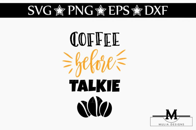 coffee-before-talkie