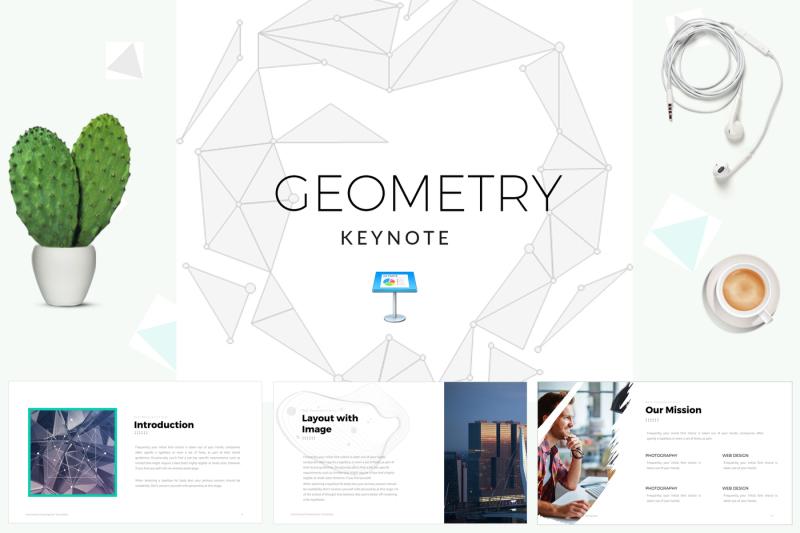geometric-keynote-template
