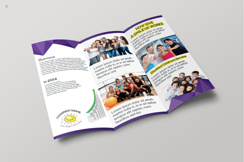 fund-raising-trifold-template