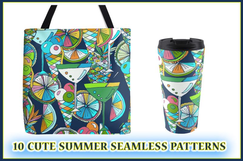cute-hand-drawn-summer-patterns