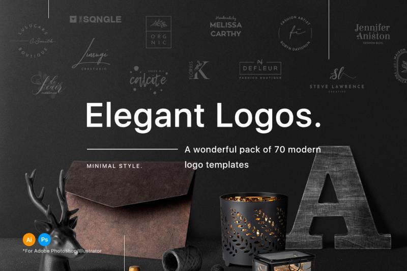 70-elegant-logo-templates