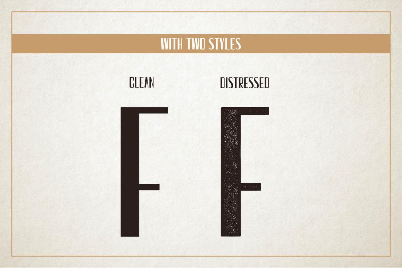 clutch-sans-serif-retro-font-2-styles