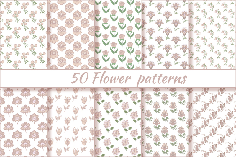 flower-fantasy-vector-set
