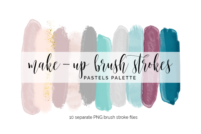 brush-strokes-clipart-pastels