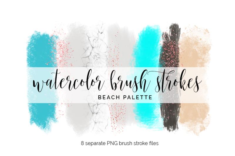 brush-strokes-clipart-beach